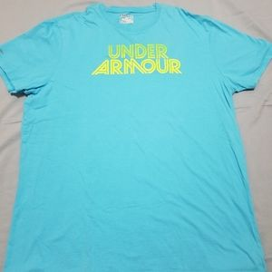 Men's Under Armour HeatGear Charged Graphic tee XL